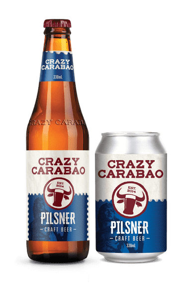 Pilsner - Available in bottles and cans